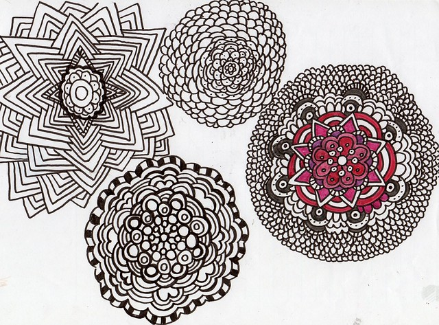 Mandala Doodle by iHanna (Copyright Hanna Andersson, 2013)