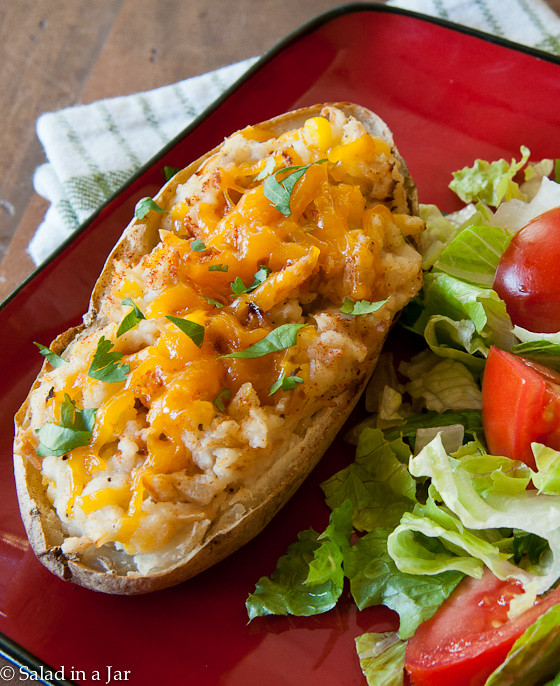 Southwestern Stuffed Potatoes