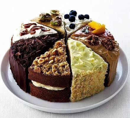 Composición de tartas