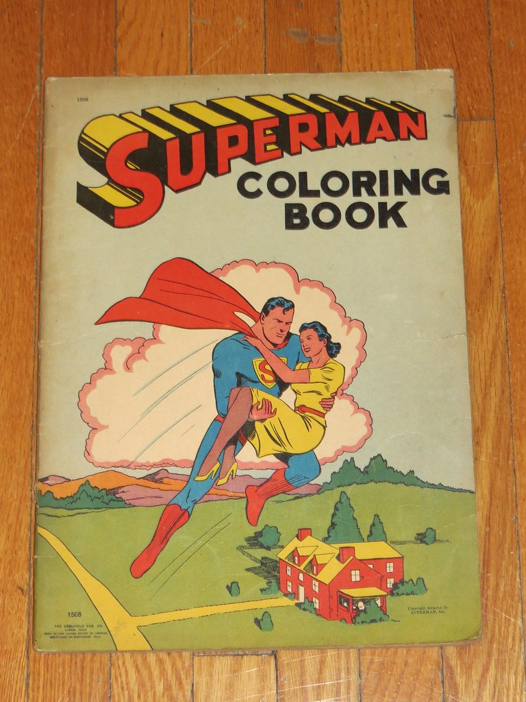 coloring_superman2
