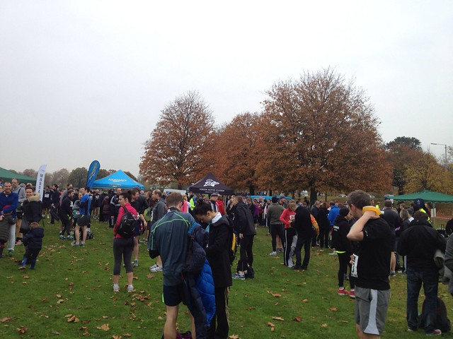 Old Deer Park 10k. Waiting
