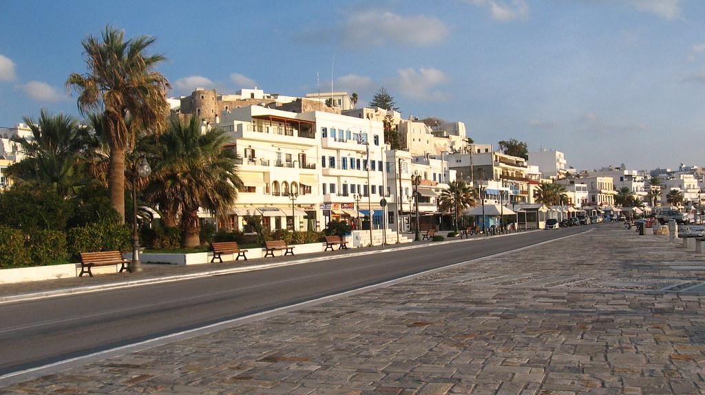 Naxos town