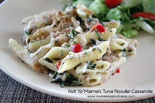 Not Yo' Mama's Tuna Noodle Casserole 4