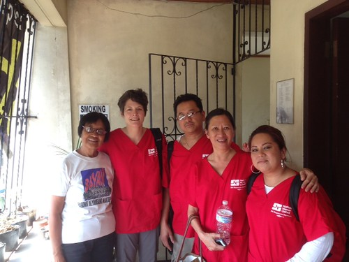 RNRN team meets with local relief organizations.