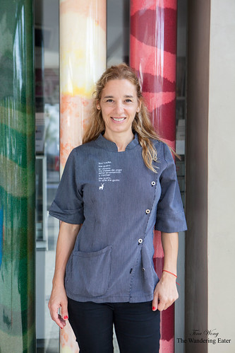 Pastry chef/owner Lucila Baiardi