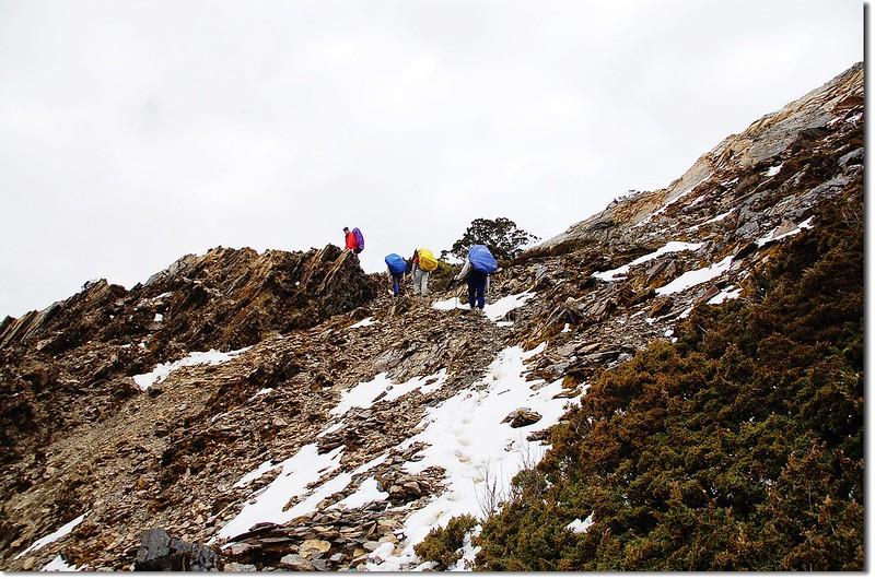 踏雪陡登可樂可樂安山 3