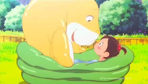 131121(1) - 新人原畫師培育企劃『アニメミライ2012』之海洋奇幻動畫《ぷかぷかジュジュ》全球免費公開!
