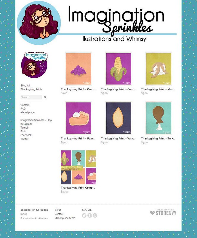 Home · Imagination Sprinkles · Online Store Powered by Storenvy