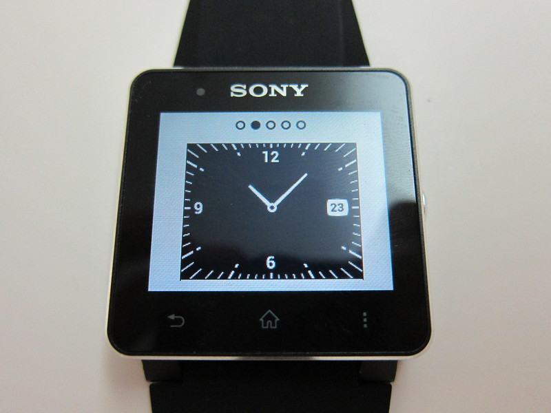 Sony SmartWatch 2 - Watch Face #2