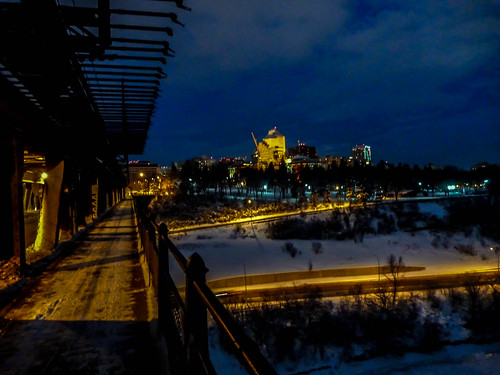 Edmonton from the High Level Bridge at 2400km