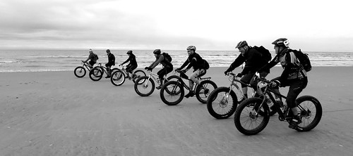 B&W - Merseyside Fat Bike Gathering