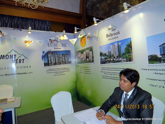 www.montverthomes.com - Mont Vert Homes -  Pune Property Exhibition, Times Property Expo 'Investment Festival 2013', 23rd & 24th November 2013