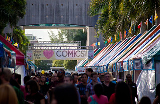 We Heart Comics Section at Miami Book Fair International 2013