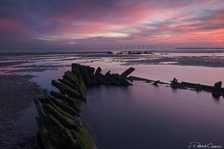 Seaton Shipwreck Sunrise
