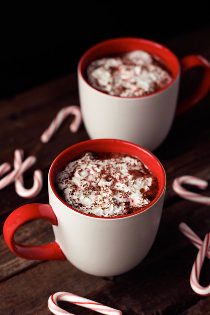 Dairy-free Peppermint Mocha (Gluten-free with Vegan Option) // tasty-yummies.com
