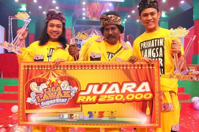 Juara, Kumpulan OMG (Anas Ridzuan, Sathia, Akim Ahmad)