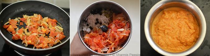 How to make soya chunks gravy - Step2