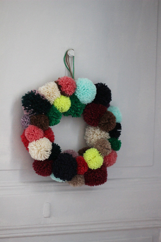 couronne-pompons