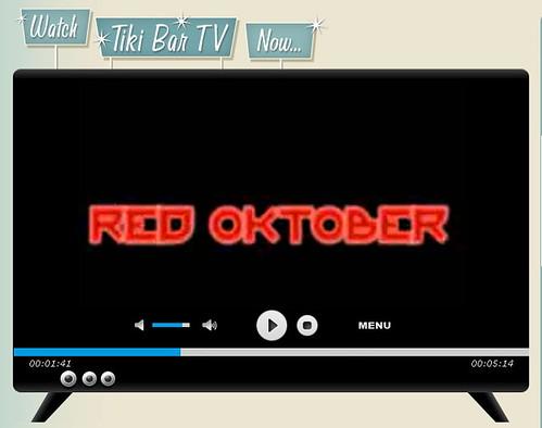 Tiki Bar Red October 2