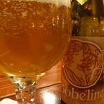 ベルギービール大好き!! ボベリン・ブロンド Bobeline Blond