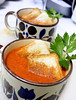 Roasted Tomato and Grilled Cheese Sandwich Soup by antoinelewis