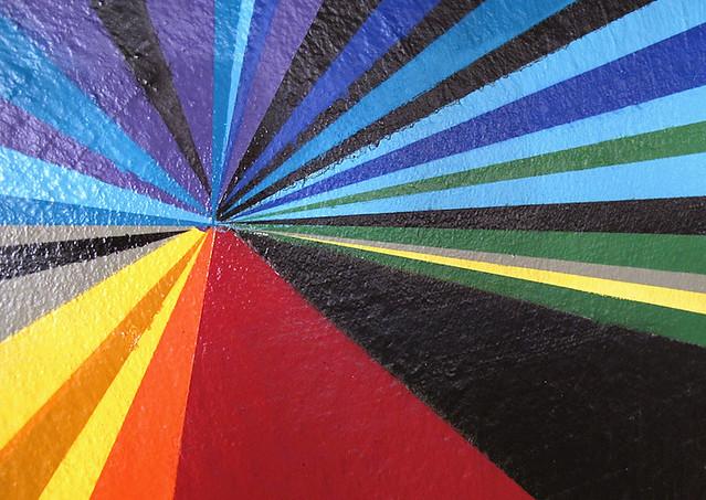 The Z Detroit : 100' Mural.