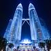 Blue Crystal [Petronas Twin Towers] by Yohsuke_NIKON_Japan
