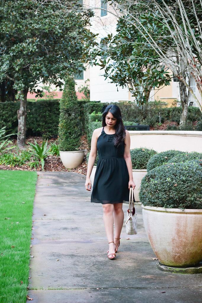 {daytime little black dress}