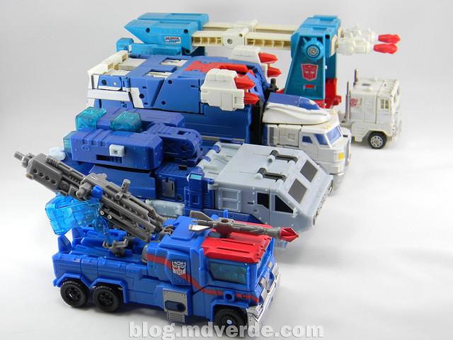 Transformers Ultra Magnus Voyager - Transformers Prime RID - modo alterno vs otros Ultra Magnus