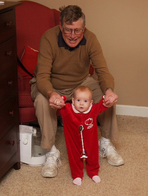 Standing Up with Grandpa