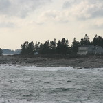 House on coast