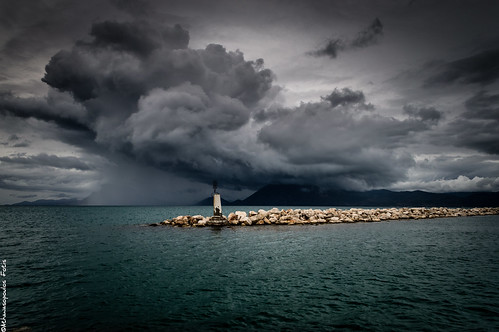 sea sky clouds nikon dramatic greece cpl patra d3200