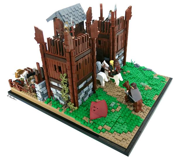 The Gates of Edoras