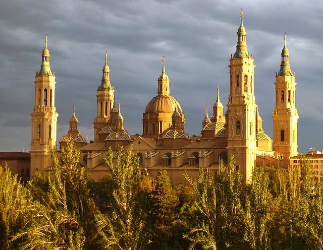 La Basilica de Nuestra Senora del Pilar, Zaragoza