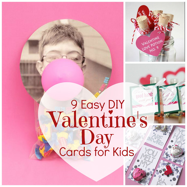 Jonahbonah 9 Easy Diy Valentine S Day Cards For Kids