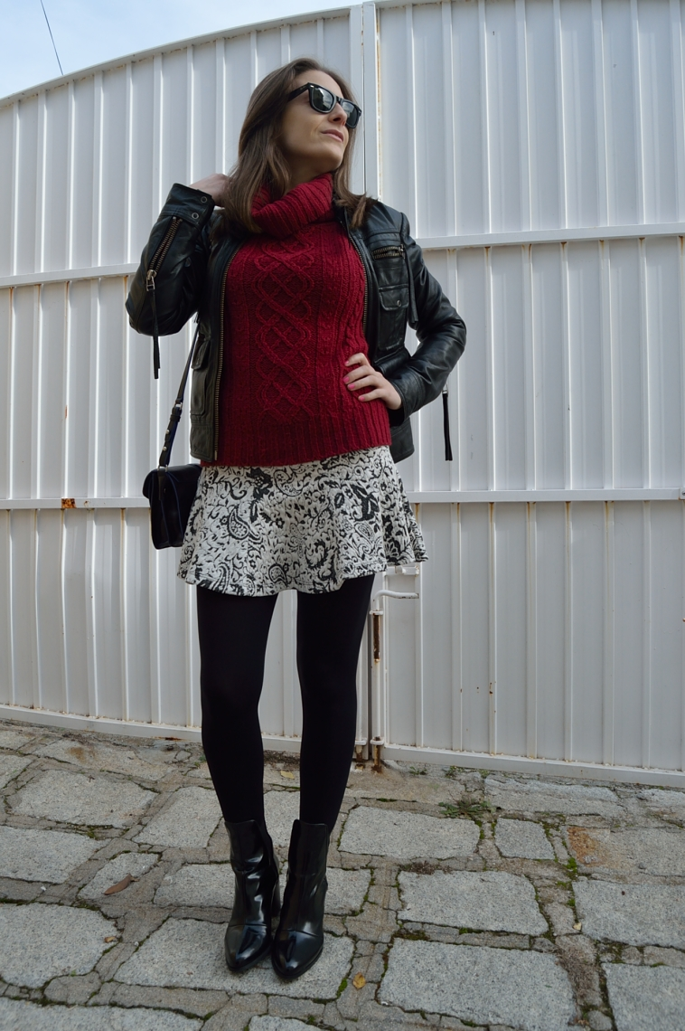 lara-vazquez-madlula-style-biker-jacket-skirt-burgundy