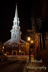 The North Church at Night