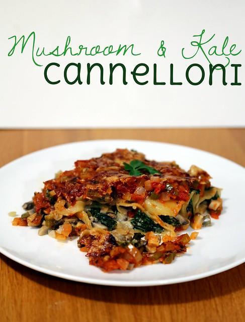 Mushroom & Kale Cannelloni #shop #cbias