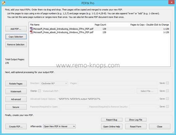 PDFtk Pro screenshot 23