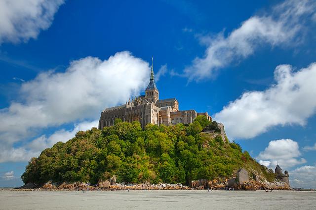 Mont Saint-Michel Castle - HDR