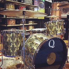 And so it begins... #qdrumco #namm2014