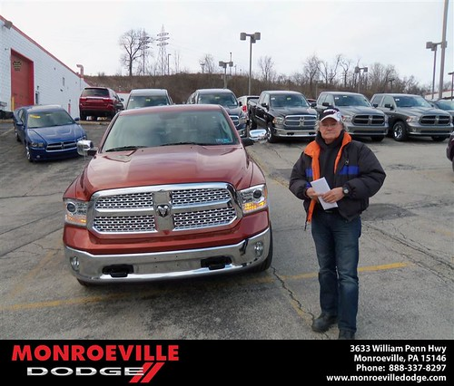 Happy Anniversary to Ronald Argo on your 2013 #Dodge #Ram from Robert Wilkes  and everyone at Monroeville Dodge! #Anniversary by Monroeville Dodge