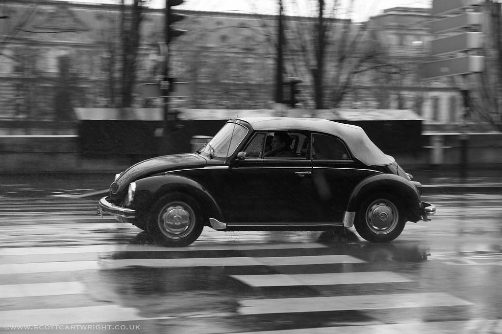 Classic Beetle Motion Blur