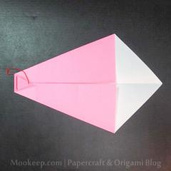 สอนวิธีการพับกระดาษเป็นรูปเป็ด (Origami Duck) - 013.jpg