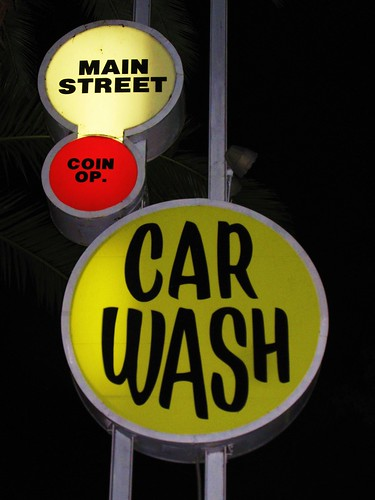 Main Street Car Wash Sign Redwood City