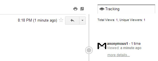how to tell when someone reads sent email