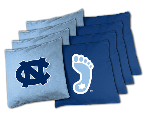 North Carolina Tarheels Cornhole Bags
