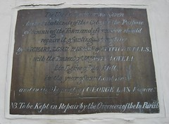 Photo of Brass plaque number 30837