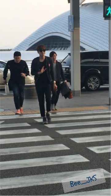 [Pics] JKS departs from Seoul to Beijing_20140425 13996205866_c2ce962c52_z