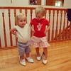 #tbt to 2007 Violet and her cousin trying on Grandma's shoes  @diana1ee @bicyclebrain